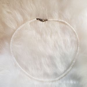 Vintage White Shell Necklace